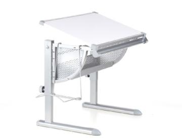 HJH Office 705100 Kinderschreibtisch Belia höhenverstellbar mit neigbar weiss / silber - 2