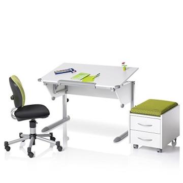 Kettler 06622-270 Schülerschreibtisch Cool Top, silber / weiß - 2