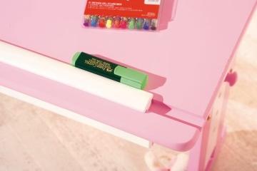Links 99800350 Kinderschreibtisch Schülerschreibtisch Schreibtisch Kinderzimmer Tisch, rosa - 4
