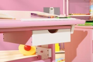 Links 99800350 Kinderschreibtisch Schülerschreibtisch Schreibtisch Kinderzimmer Tisch, rosa - 5