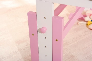 Links 99800350 Kinderschreibtisch Schülerschreibtisch Schreibtisch Kinderzimmer Tisch, rosa - 6