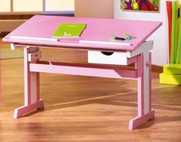 Links 99800350 Kinderschreibtisch Schülerschreibtisch Schreibtisch Kinderzimmer Tisch, rosa - 8