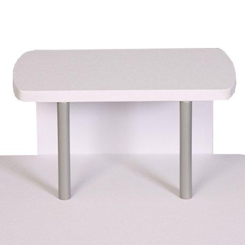 jugend schreibtisch computertisch b rotisch ohio ii ca 90x115x55cm wei 5. Black Bedroom Furniture Sets. Home Design Ideas