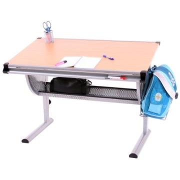 Kinderschreibtisch Schülerschreibtisch Schreibtisch Oxford, höhenverstellbar, neigbar ~ pink/rosa - 6
