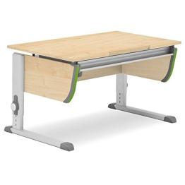 Moll Schreibtisch Joker | Ahorndekor | Höhenverstellbarvon 53-82 cm | Kinderschreibtisch - 1