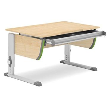 Moll Schreibtisch Joker | Ahorndekor | Höhenverstellbarvon 53-82 cm | Kinderschreibtisch - 2