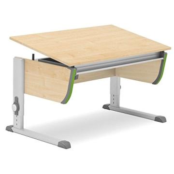 Moll Schreibtisch Joker | Ahorndekor | Höhenverstellbarvon 53-82 cm | Kinderschreibtisch - 3