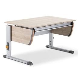 Moll Schreibtisch Joker | Eichedekor | Höhenverstellbar von 53- 82 cm | Kinderschreibtisch - 1
