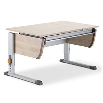 Moll Schreibtisch Joker   Eichedekor   Höhenverstellbar von 53- 82 cm   Kinderschreibtisch - 1