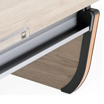 Moll Schreibtisch Joker   Eichedekor   Höhenverstellbar von 53- 82 cm   Kinderschreibtisch - 2