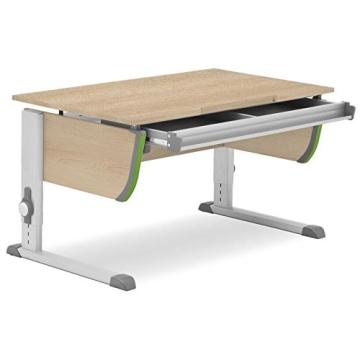 Moll Schreibtisch Joker   Eichedekor   Höhenverstellbar von 53- 82 cm   Kinderschreibtisch - 3