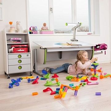 Moll Schreibtisch Joker   Eichedekor   Höhenverstellbar von 53- 82 cm   Kinderschreibtisch - 7