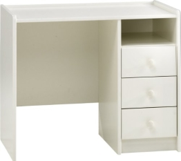 Steens 29007750 Schreibtisch SFK 74 x 89 x 54 cm MDF weiß - 1